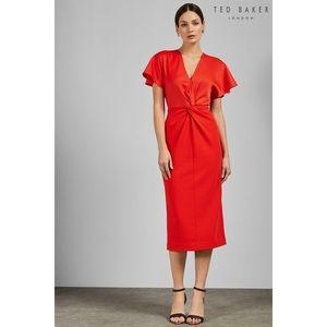 NWT Ted Baker Ellame Wrap Dress